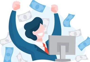 Gehalt, Freude, Jubel, Geld, Geldregen, Gehaltseingang, Gehaltsmaximum