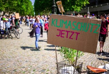 Klima, Klimaschutz, Demonstration, Fridays for Future
