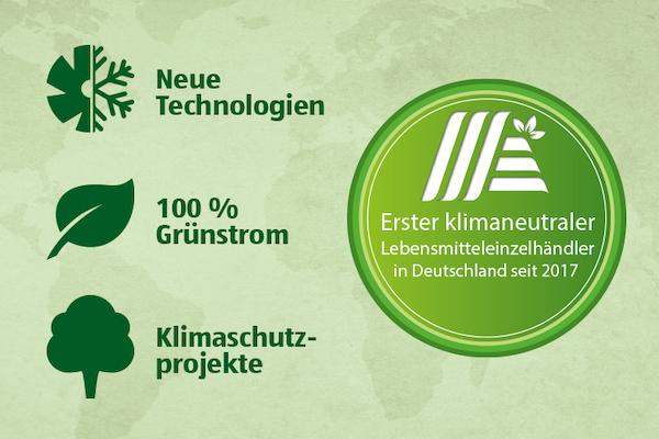 klimaneutrale Werbung, Werbung, Klima, Umwelt, Umweltschutz, Aldi, Aldi Süd