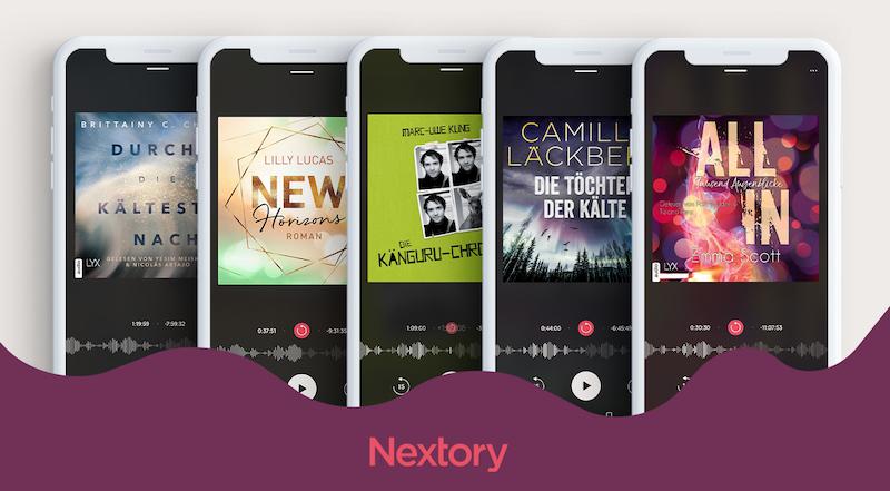 Nextory E-Book Hörbücher