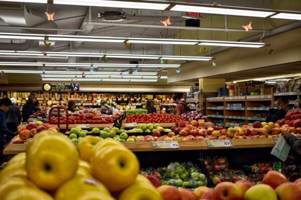 Handel, Lebensmittel, Obst, Gemüse