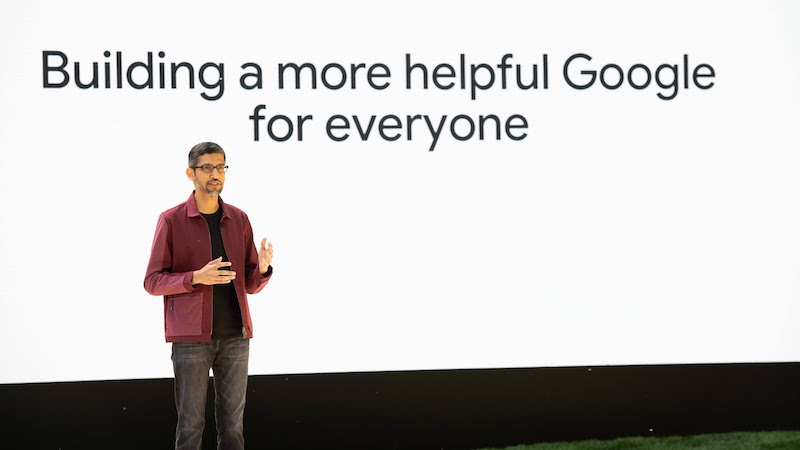 Google, Google Maps, KI, Google I/O 2021, Sundar Pichai