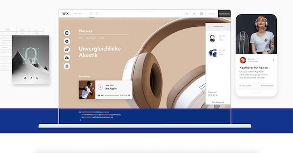WIX Website Baukasten Vergleich
