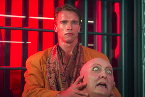 Arnold Schwarzenegger, Total Recall, Maske, Mann