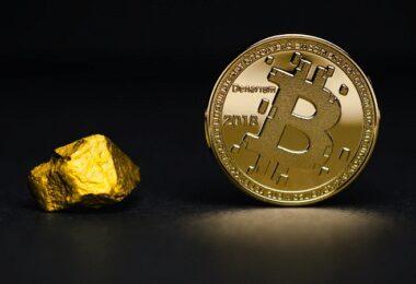 Bitcoin, Gold, Kryptowährung, digitales Geld, Bitcoin-Betrug, Africrypt