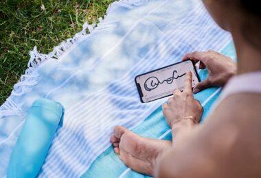 digitale Unterschrift, Signatur, unterschreiben