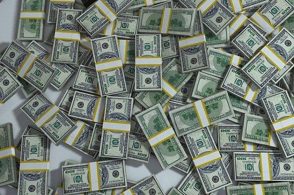 Geld, US-Dollar, Geldscheine, Job-Interviews