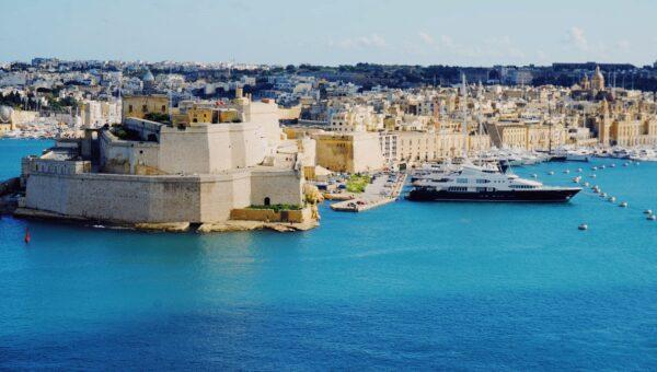 Malta, Hafen, Meer, Stadt