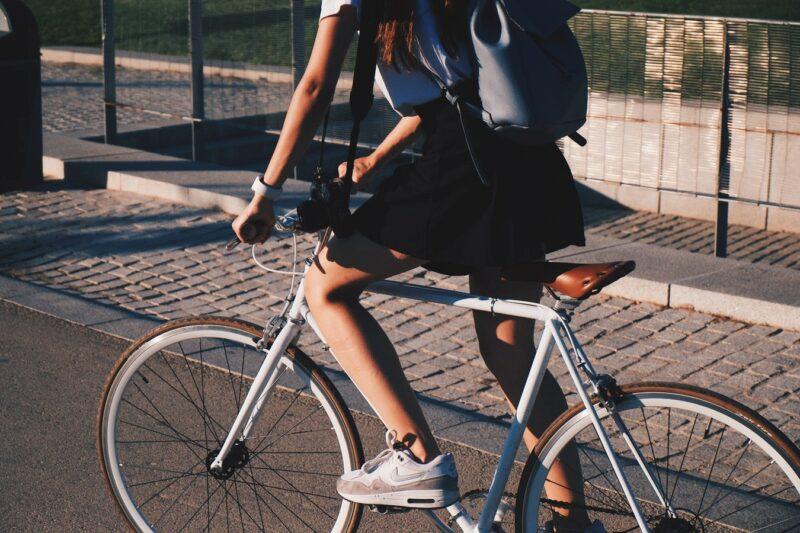 Person, Fahrrad, Sport, Sommer