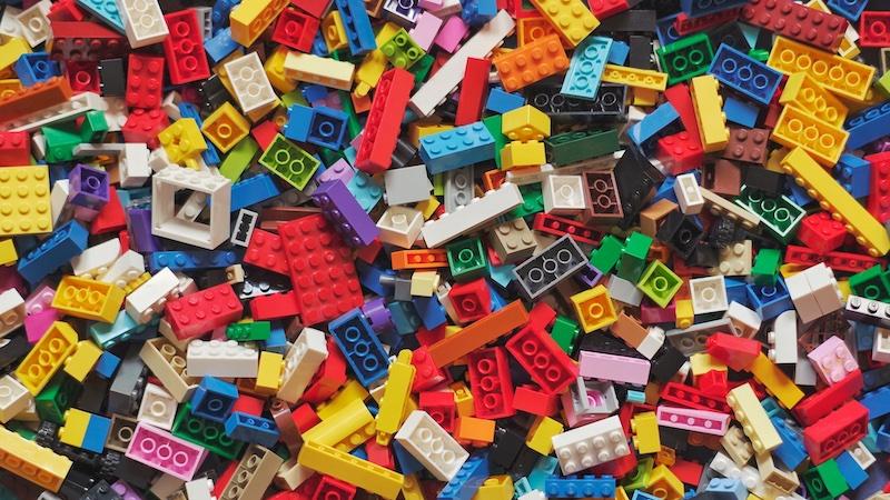 Öko-Plastik, Lego, Legosteine