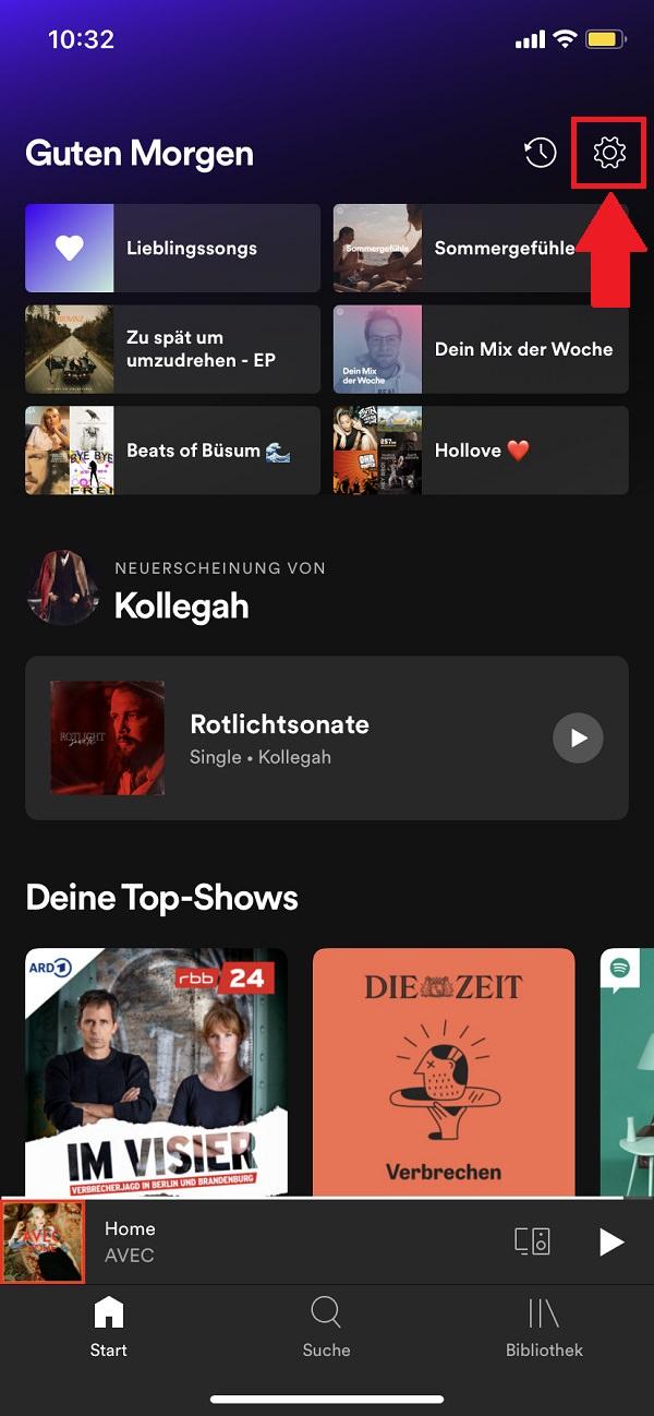 Spotify Cache löschen, Spotify Cache leeren, Spotify Speicher löschen