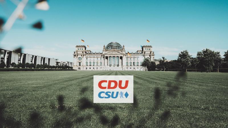 Wahlprogramm CDU/CSU, Bundestagswahl