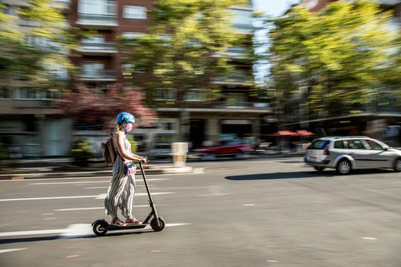 Scooter, E-Scooter, E-Roller, Roller, autofrei, Alternativen zum Auto