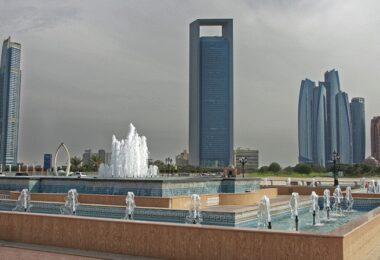 Abu Dhabi, Wolkenkratzer, Vereinigte Arabische Emirate, UAE