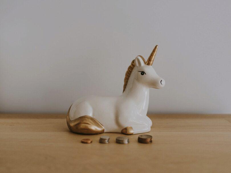 Einhorn, Geld, Unicorn, Decacorn, Fintechs, beste Bedingungen für Fintechs, Finanz-Start-ups