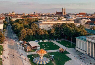 München, Frauenkirche, Bayern, zukunftsfähiges Straßennetz