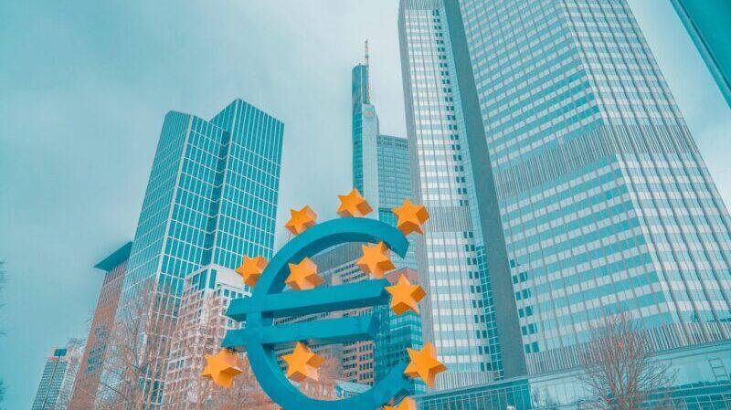 Euro, Geld, Gebäude, Deutschlands größte Banken