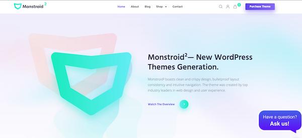 Monstroid 2 WordPress Theme Template