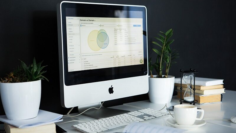 Schreibtisch, Computer, Arbeit, Mac, Job