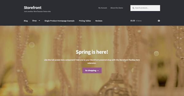 Storefront WooCommerce WordPress-Themes IONOS