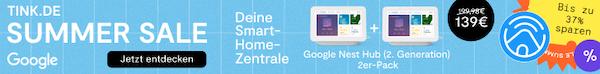 tink Smart Home Google Nest Hub