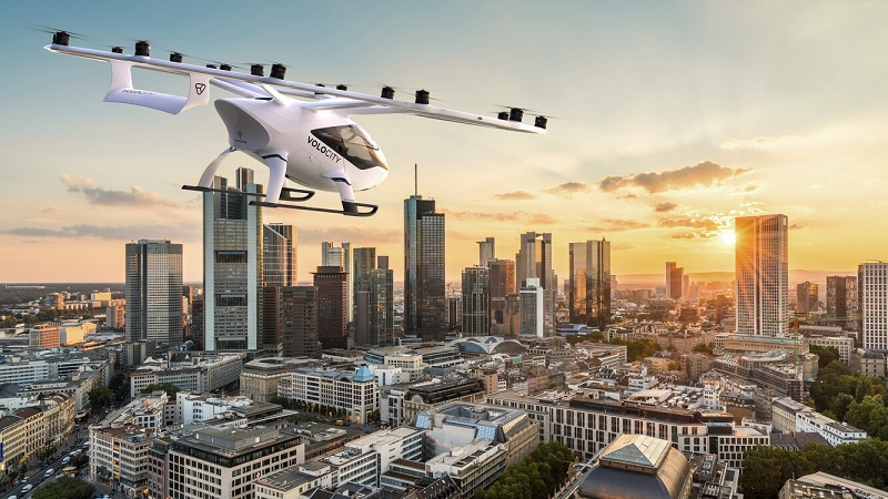 Volocopter, Flugtaxi, Volocity, Frankfurt, Flugtaxis an der Börse