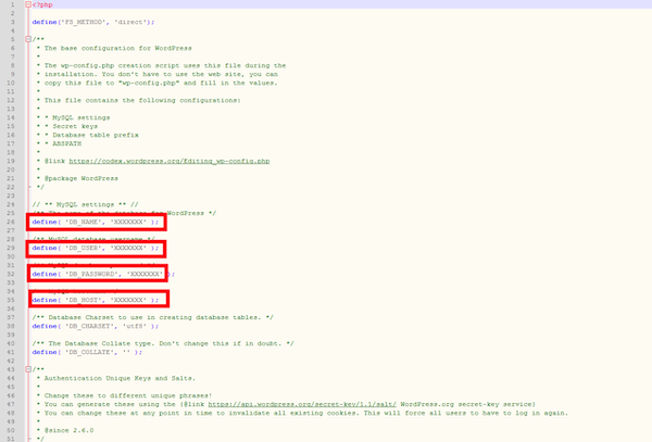 WordPress-Migration Schritt 3 IONOS