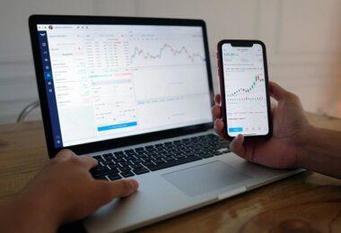 Chart, Chartanalyse, Aktien-Analyse, Krypto-Aktien, Stock Token