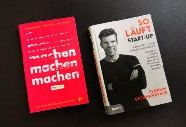Machen, So läuft Start-up, Runtastic Buch, Mymuesli Buch, deutsche Gründer-Bücher,