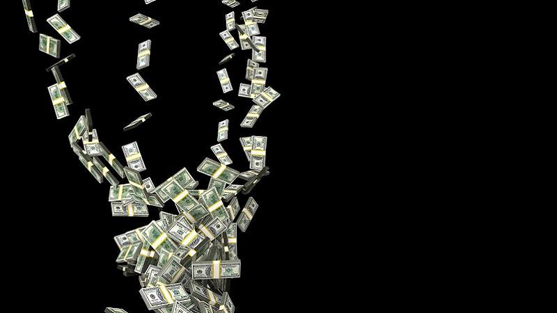 Geldregen, Dollar, US-Dollar, Geldscheine, Geldnoten, Soft Skills für Gründer, Unternehmenserfolg