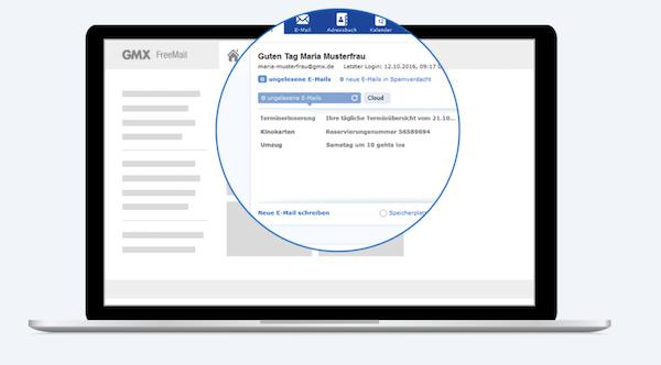GMX Mail E-Mail-Anbieter