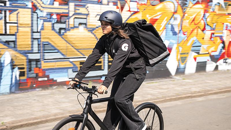 Lieferdienst Gorillas, Rider, Berlin