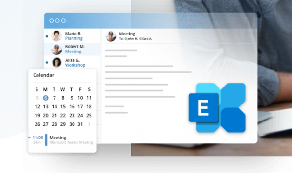 IONOS Hosted Microsoft Exchange Outlook-Alternativen