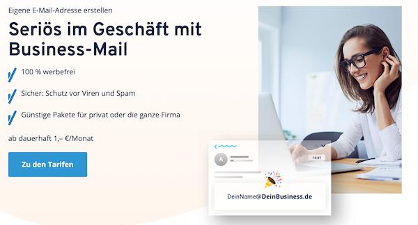 IONOS Mail E-Mail-Anbieter