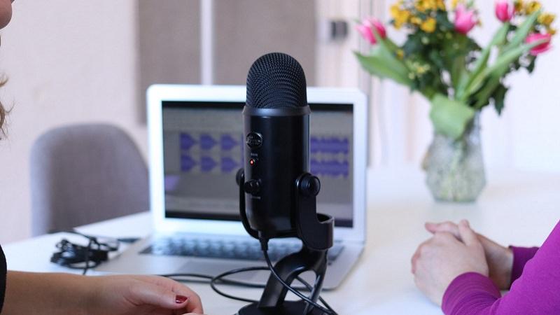 Mikrofon, Audio, Podcast, Gespräch, Google Podcasts Empfehlungen