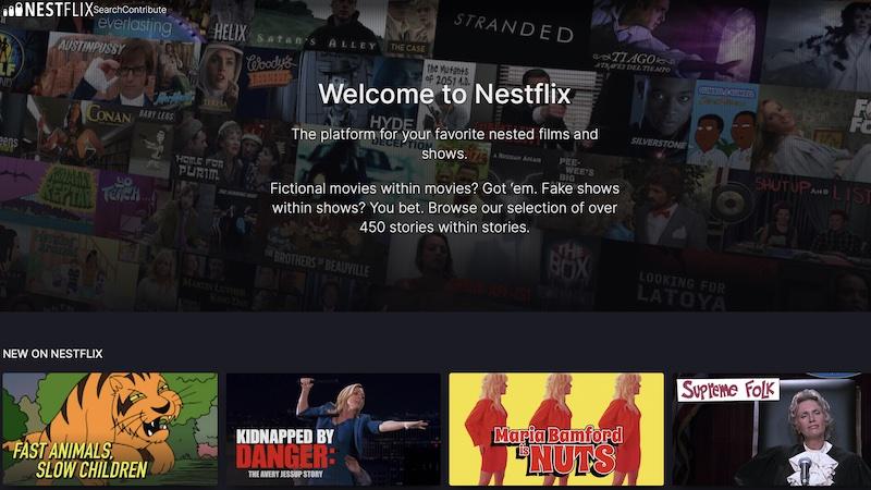 Nestflix, Filme, Streaming, Netflix