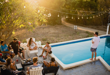 Pool, Schwimmbecken, Swimmy, Pool-Sharing