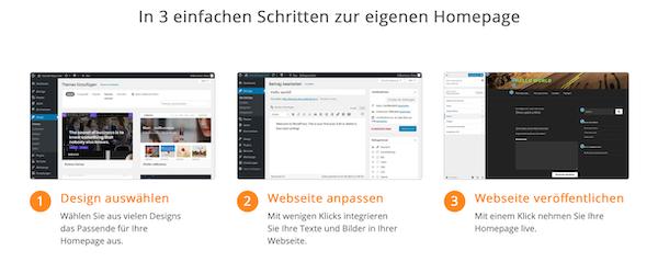 WordPress-Hosting Strato