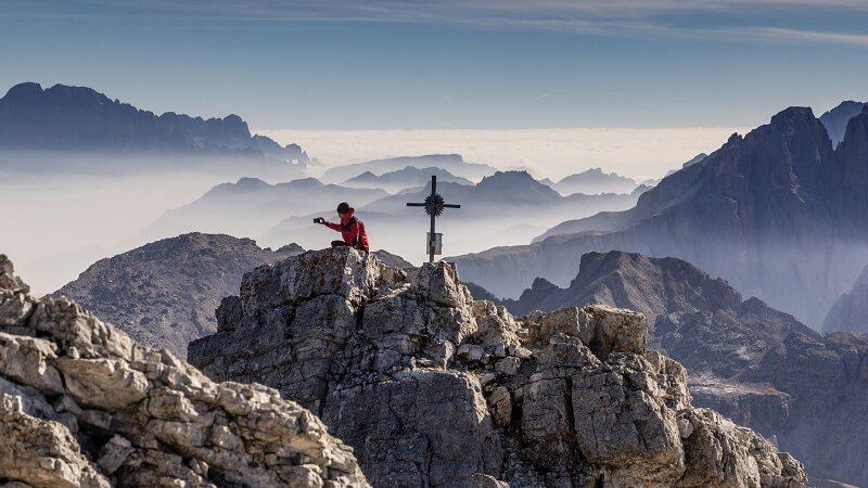 Berg, Natur, wandern, Smartphone, Fotograf, Off-Grid
