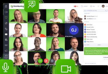 ClickMeeting Videokonferenzen Meetings Webinar