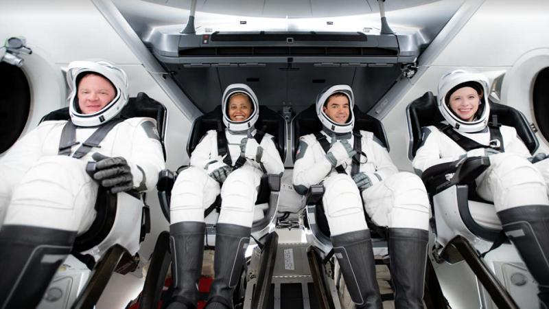 SpaceX, rein zivile Crew, Inspiration4, Weltraumtourismus