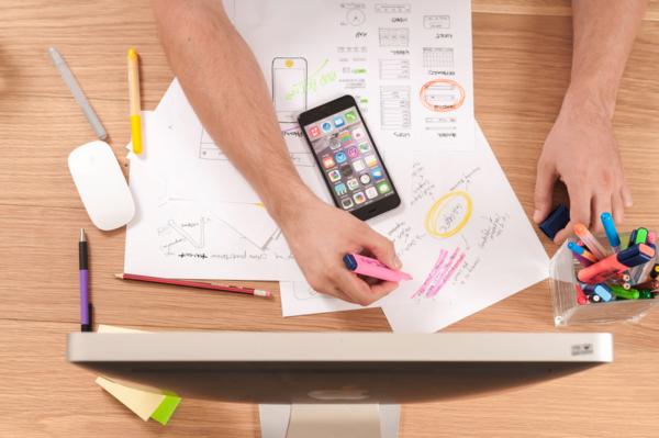 Arbeit, Office, Kreativität