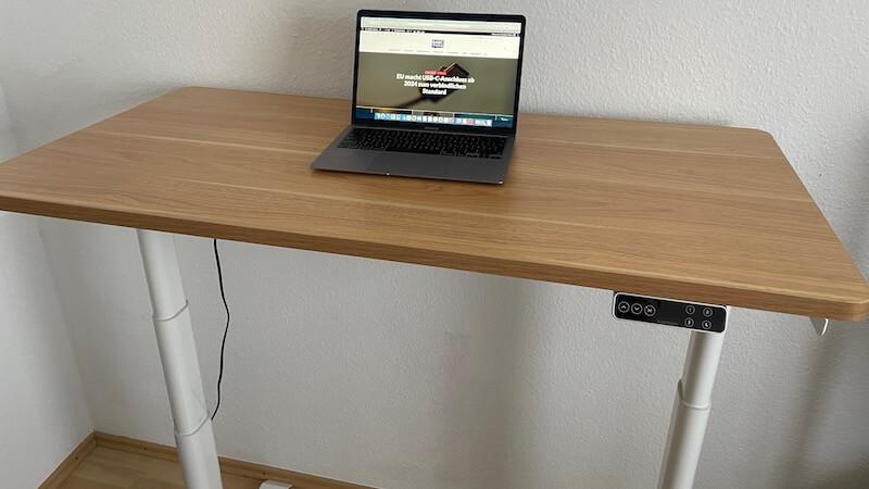 FlexiSpot E8, höhenverstellbarer Tisch, höhenverstellbarer Bürotisch