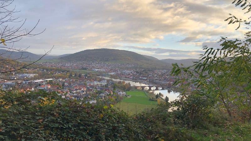 Miltenberg, Main, Maintal, Unterfranken, Stadtflucht