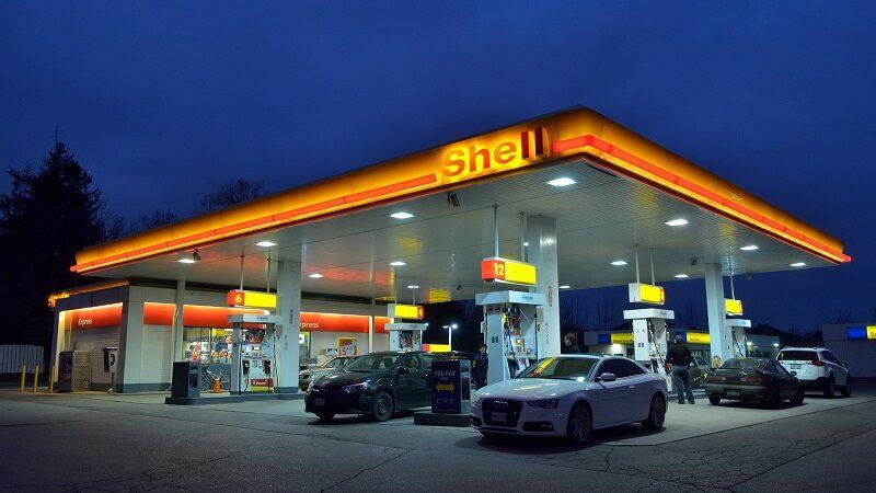Shell Tankstelle, Benzin, Diesel, Spritmangel