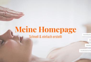 Homepage-Baukasten Strato