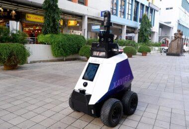 Xavier, Roboter, Singapur