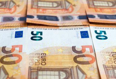 Euro, Euroscheine, 50 Euro, 50-Euro-Schein, Geld, Geldnoten, Dividenden-ETF, beste Dividenden-ETFs der Welt, beste Dividenden-Fonds