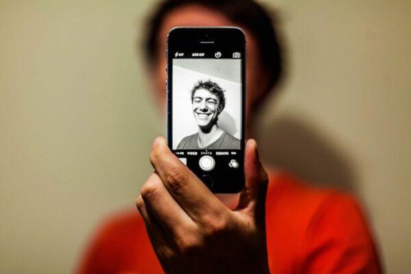 Lächeln, Selfie