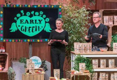 EARLY GREEN, Early Green, Bernd Sell, Nicole Sell, vegane Fleischgerichte, DHDL, Die Höhle der Löwen